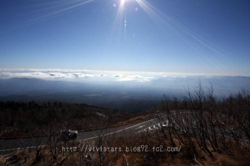 富士山雲の上