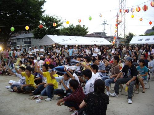 道善祭り観客