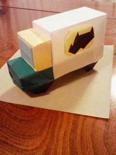 折り紙 ミニカー