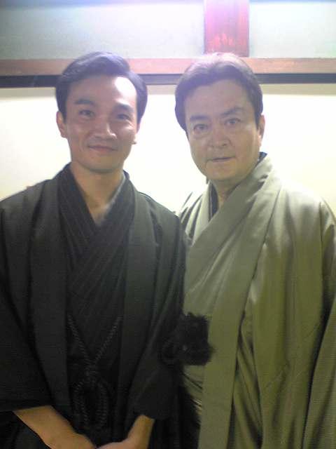大和田伸也さんと