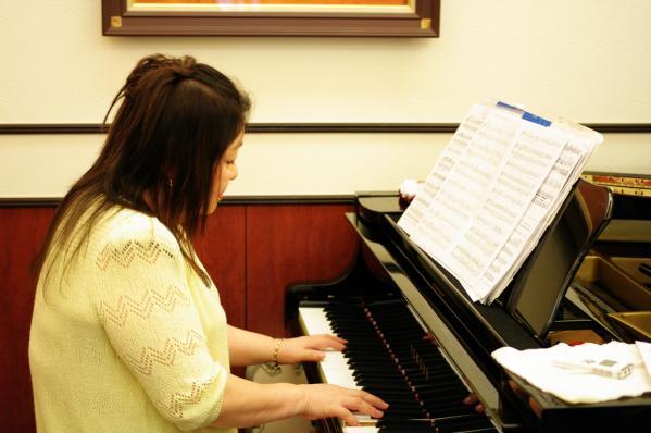 ピアニストの井上さん