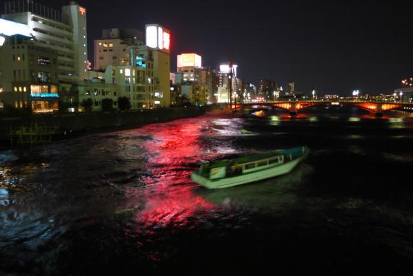 隅田川の津波
