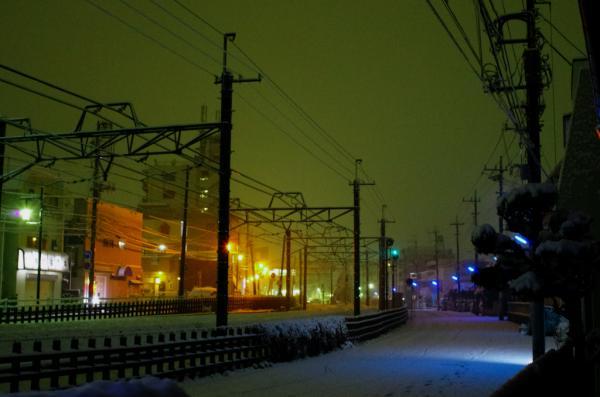上本郷駅方向