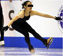 着氷 スケート