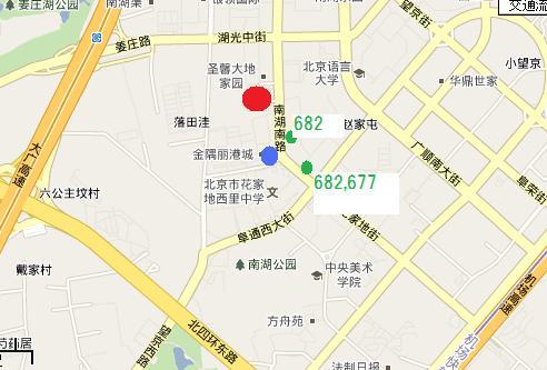 南湖綜合市場地図