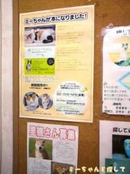 ミーちゃんのポスター