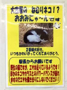駅のポスター
