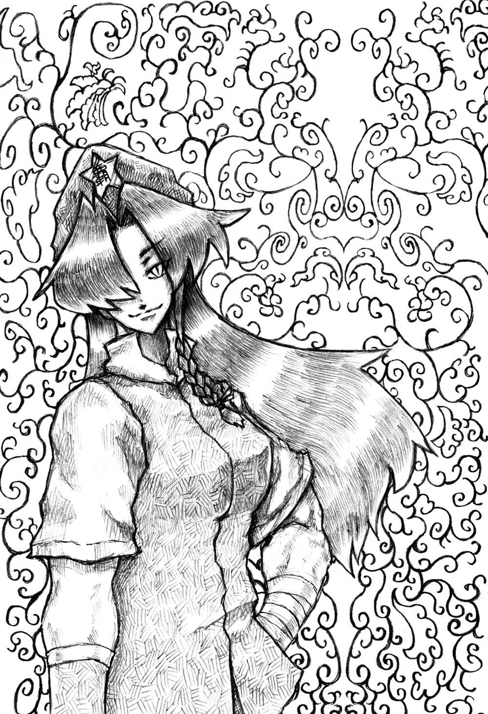 美鈴落描き11-2