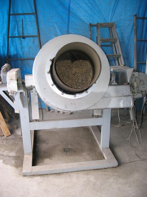 たつかーむ 大豆炒る機械