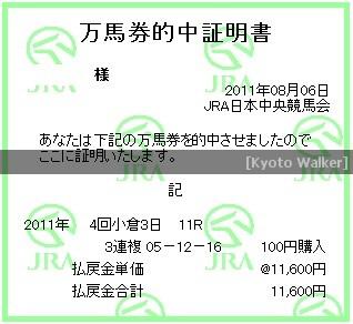 8.6. 西部日刊スポーツ杯