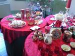 クリスマスのテーブル オランダ風