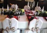 クリスマスのテーブル スイス風