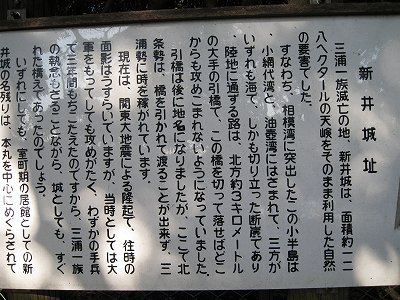 三浦氏の新井城