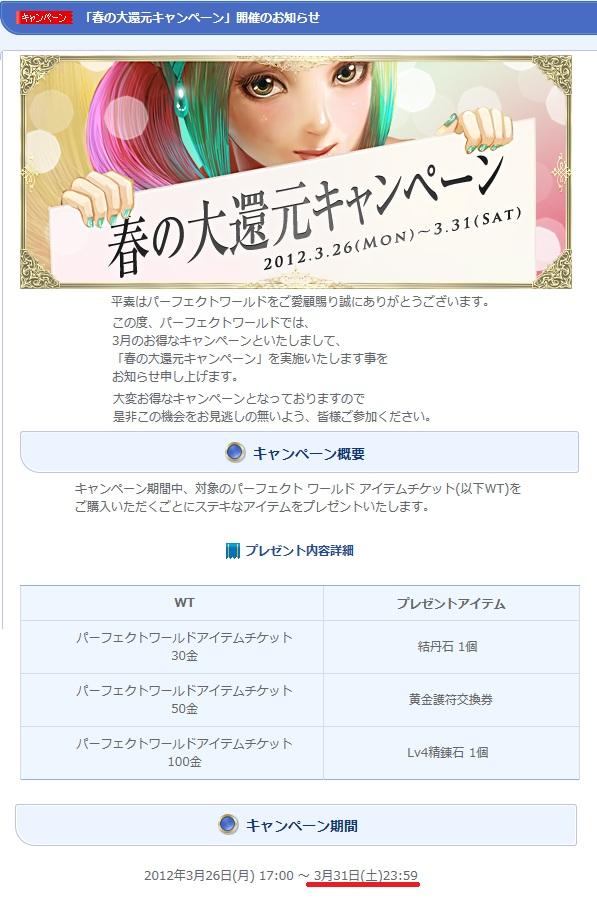 2012年3月公式ss:WT付加商品