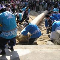 中川上宮御柱祭13
