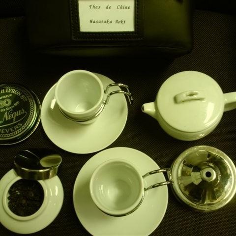 仏茶器セット中身四角