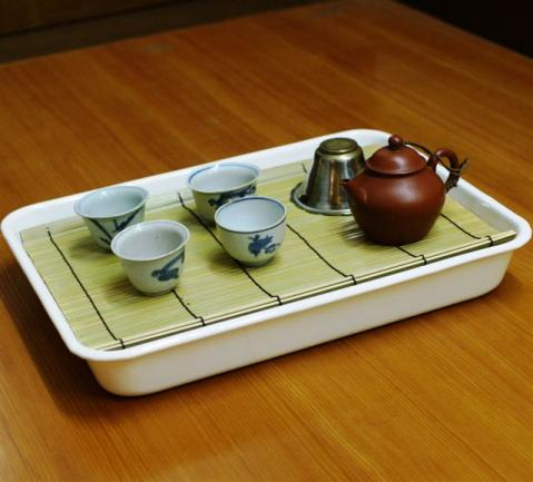 IMGP6462琺瑯の茶盤