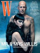 Emma Heming vs Bruce Willis by Steven Klein