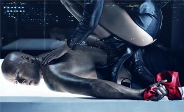 Emma Heming vs Bruce Willis by Steven Klein EH02