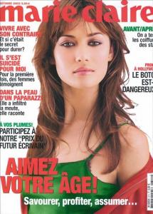 Olga Kurylenko Topless - French Marie Claire Magazine October 2003 c01