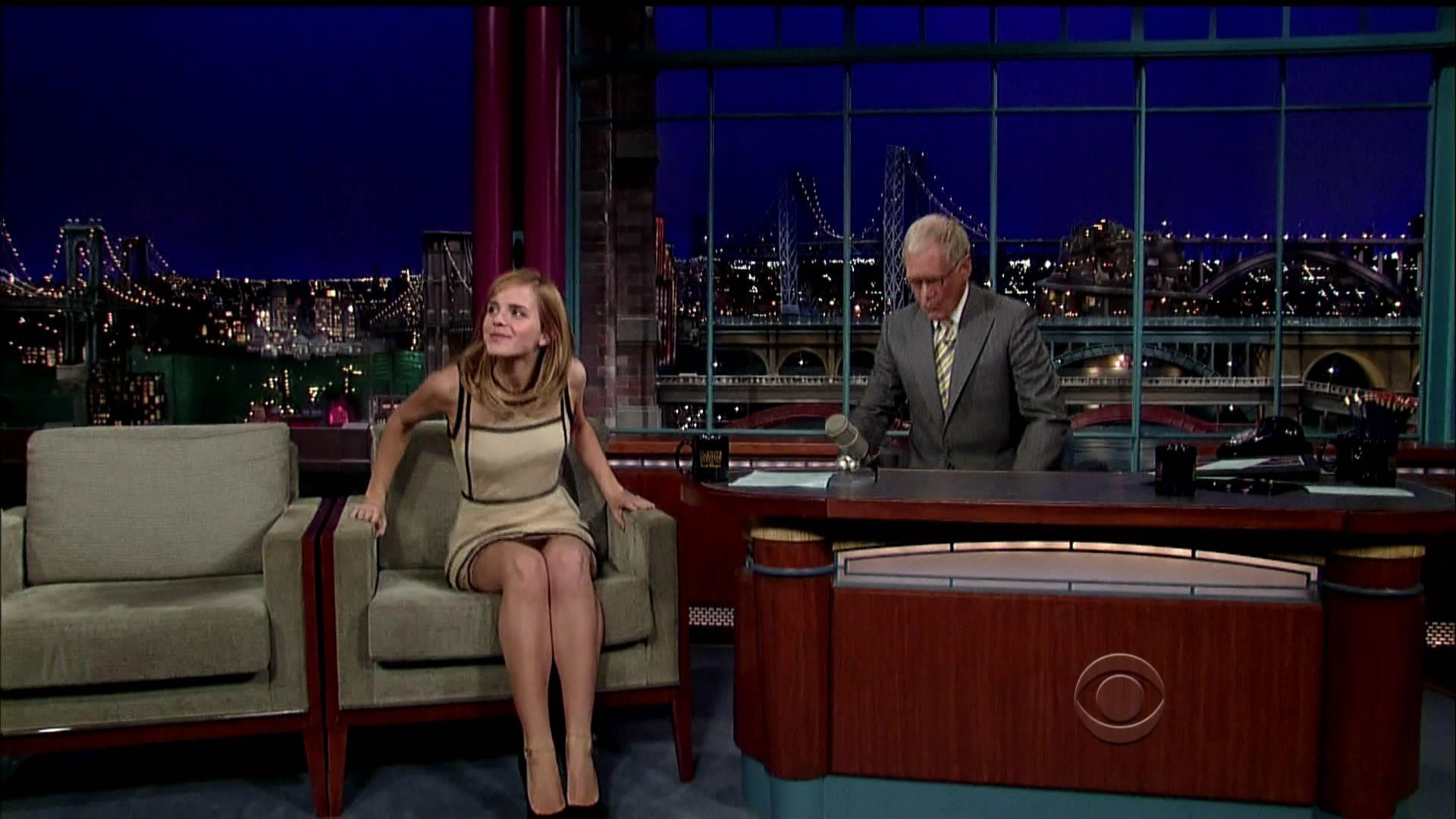 Emma Watson on David Letterman