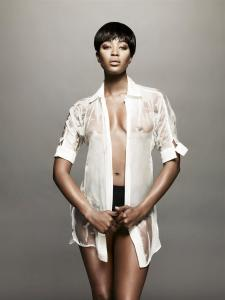Naomi Campbell - Topless in i-D Magazine March 2009 c01