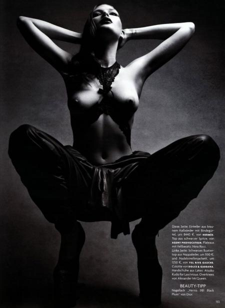 Vogue Germany - August 2009 - Femme Fatale - Catherine McNeil v05
