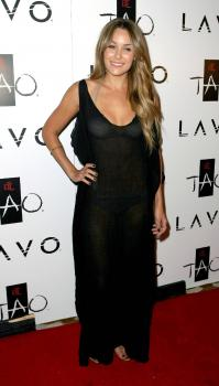 Lauren Conrad see-thru to underwear @ Venetian Hotel  Casino Resort c01