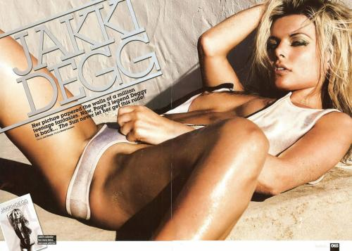 Jakki Degg - Topless - She is back - Loaded Magazine v05s