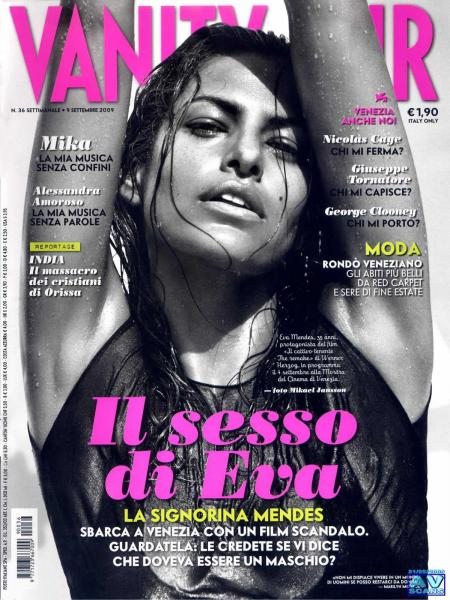 Eva Mendes - September 2009 Italian Vanity Fair Magazine
