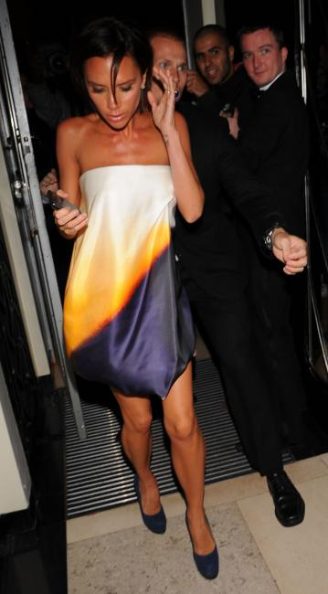 Victoria Beckham @Mayfair Hotel London Sept 21st 2009