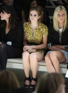 Emma Watson @ Burberry Prorsum SS 2010 Show in London a09
