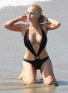 Sophie Monk swimsuit candids 01s