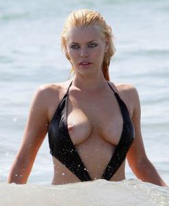 Sophie Monk swimsuit candids 03