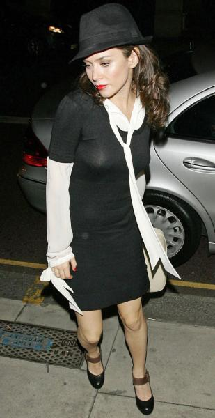 Anna Friel - see thru - London