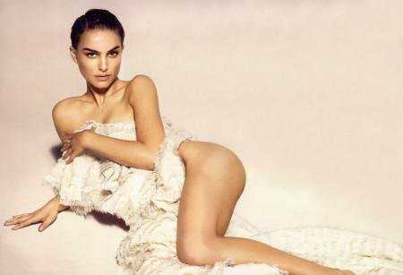 Natalie Portman - Nude but covered in Vanity Fair 2004