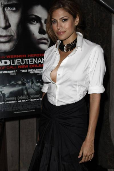 Eva Mendes - Bad Lieutenant Port Of Call New Orleans screening in NY 01