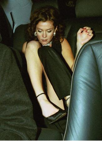 Anna Friel - Upskirt @ Me without You NY Premiere1