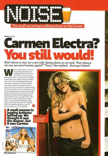 Carmen Electra - Topless You Still Would