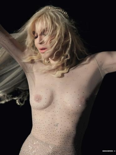 Courtney Love in Dazed  Confused magazine c1