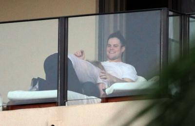 Hilary Duff With Her Boyfriend in Hawaii - February 18 2010