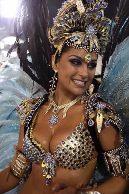 Brazillian dancers from Carnivale in Rio 1