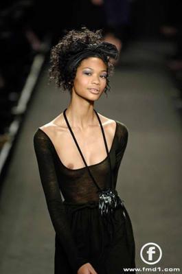 Chanel Iman Nip Slip @ Runway oops 01
