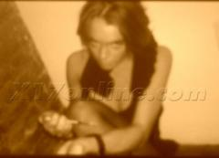 Lindsay Lohan - syringe  kissing Paris Hilton @ 2007 Party a01
