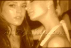 Lindsay Lohan - syringe  kissing Paris Hilton @ 2007 Party b04