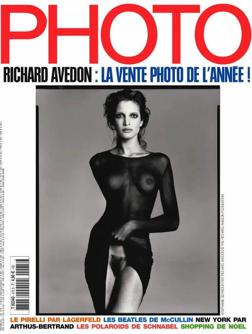 Stephanie Seymour - NUDE Photo Magazine France December 2010