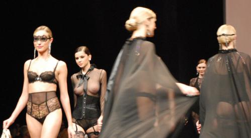Madalina Pica - the 35 year of Lise Charmel Lingerie Fashion Show 06