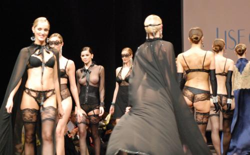 Madalina Pica - the 35 year of Lise Charmel Lingerie Fashion Show 05