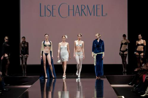 Madalina Pica - the 35 year of Lise Charmel Lingerie Fashion Show 01