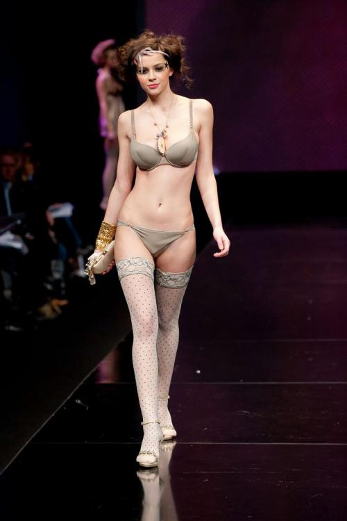 Madalina Pica - the 35 year of Lise Charmel Lingerie Fashion Show v01